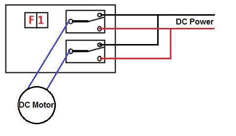 Need help wiring relay for motor reverse - General ... Dc Motor Wiring Diagram Wire on
